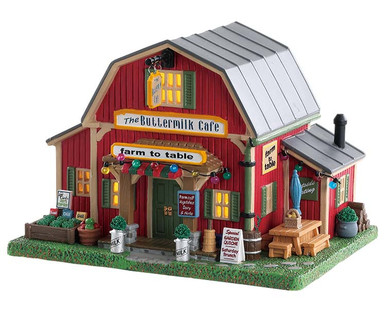 85388 - The Buttermilk Café (AA Batteries) - Lemax Harvest Crossing