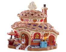 85437 - Ginger's Pie Shop, Battery-Operated (4.5-Volt) - Lemax Sugar N Spice Houses