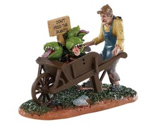 92732 - Garden of Eaten Worker - Lemax Spooky Town Figurines