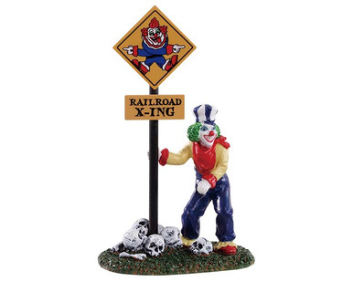 92734 - Crazy Clown Conductor - Lemax Spooky Town Figurines