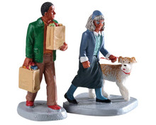92742 - Happy to Help, Set of 2 - Lemax Figurines