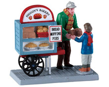 92749 - Delivery Bread Cart - Lemax Figurines