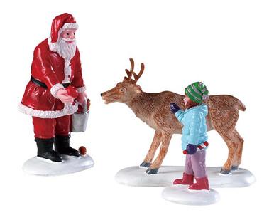 92752 - Reindeer Goodies, Set of 3 - Lemax Figurines