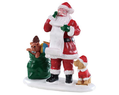 92760 - Naughty or Nice Santa - Lemax Figurines