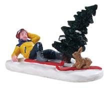 92765 - Ski Bunny - Lemax Figurines