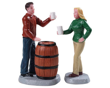 "92769 - ""Cheers!"", Set of 2 - Lemax Figurines"