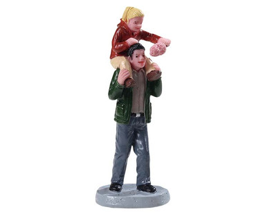 92775 - Sharing Cotton Candy - Lemax Figurines