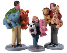 92776 - Prize Winners, Set of 3 - Lemax Figurines
