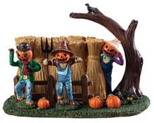 93417 - Sinister Scarecrows - Lemax Spooky Town Accessories