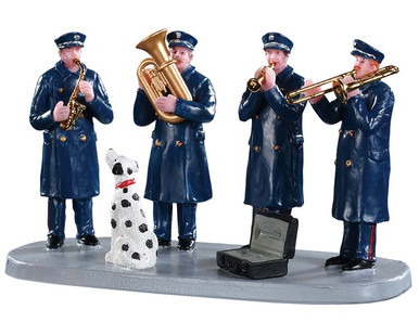 93421 - Firehouse Band - Lemax Table Pieces