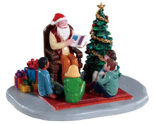 93435 - Storybook Santa - Lemax Table Pieces;Lemax Santa's Wonderland
