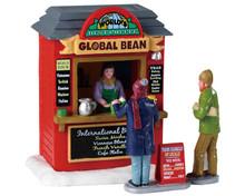 93439 - Global Bean Coffee Kiosk - Lemax Table Pieces