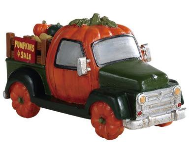 93445 - Pumpkin Truck - Lemax Spooky Town Accessories