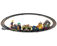 94486 - Crazy Clown Express, Battery-Operated (4.5-Volt) - Lemax Spooky Town Accessories