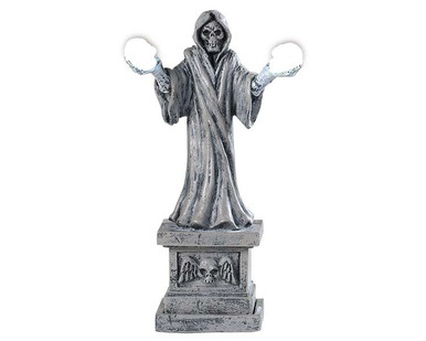 94489 - Skeleton Lamp, Battery-Operated (4.5-Volt) - Lemax Spooky Town Accessories