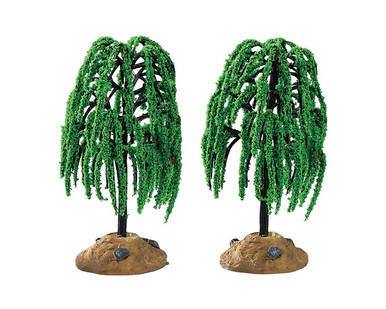 94548 - Spring Willow Tree, Set of 2 - Lemax Trees
