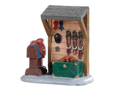 94549 - Horse Tack Station - Lemax Misc. Accessories