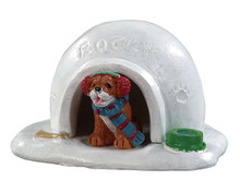 94552 - Igloo Doghouse - Lemax Misc. Accessories