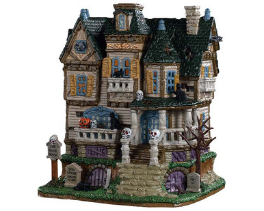 95442 - The Haunted Knoll - Lemax Spooky Town Houses