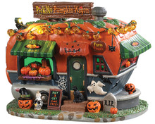 95444 - Pick Me Pumpkin Wagon, Battery-Operated (4.5-Volt) - Lemax Spooky Town Houses