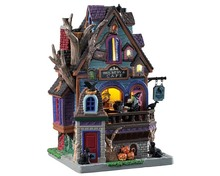 95457 - Raven's Roost Brewery & Café - Lemax Spooky Town Houses