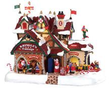 95462 - Kringle's Cottage, with 4.5-Volt Adaptor - Lemax Santa's Wonderland