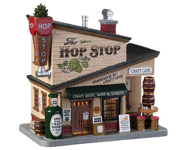 95485 - The Hop Stop - Lemax Harvest Crossing