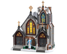 95506 - St. Matthew's Church - Lemax Caddington Village