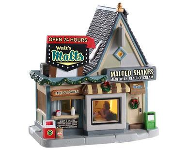 95533 - Walt's Malts - Lemax Jukebox Junction