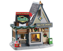95533 - Walt's Malts - Lemax Jukebox Junction