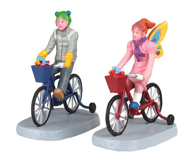02909 - Candy Cruisers, Set of 2 - Lemax Spooky Town Figurines