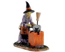 02911 - Shopping for Halloween - Lemax Spooky Town Figurines