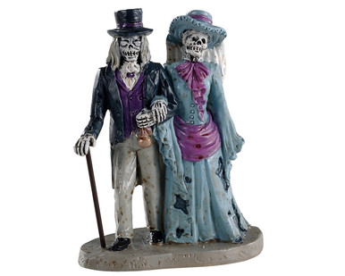 02912 - Spectral Couple - Lemax Spooky Town Figurines