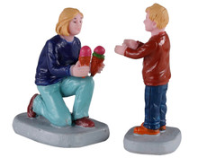 02918 - Weekend Treats, Set of 2 - Lemax Figurines