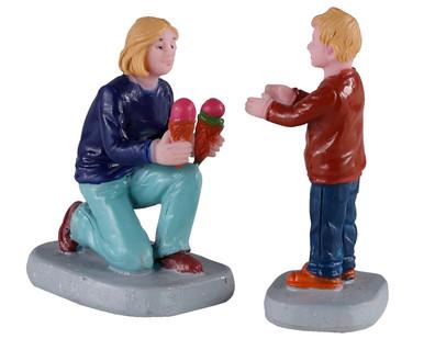 02918 - Weekend Treats, Set of 2 - Lemax Figurines