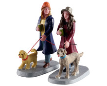 02924 - Multi-Tasking, Set of 2 - Lemax Figurines