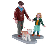 02926 - Afternoon Stroll, Set of 2 - Lemax Figurines