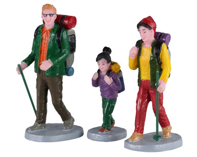 02936 - Family Trek, Set of 3 - Lemax Figurines