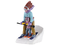 02938 - Mommy & Me Ski - Lemax Figurines