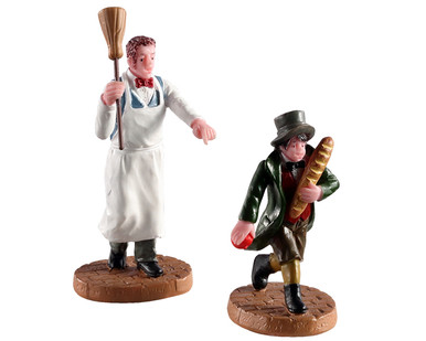 02947 - Artful Dodger, Set of 2 - Lemax Figurines