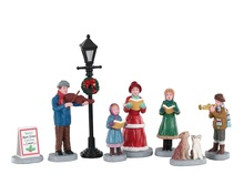 02949 - Baily's Music School Carolers, Set of 8 - Lemax Figurines