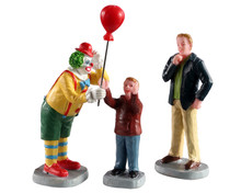 02953 - Friendly Clown, Set of 3 - Lemax Figurines