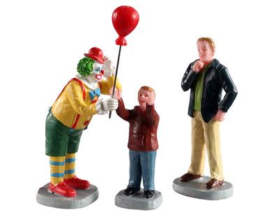 02953 - Friendly Clown, Set of 3 - Lemax Figurines