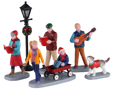 02955 - Merry Songs, Set of 6 - Lemax Figurines