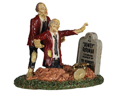 "02957 - Finding Buddy ""Boney"" Goodman - Lemax Spooky Town Figurines"