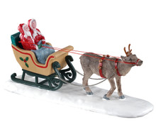03514 - North Pole Sleigh Ride - Lemax Table Pieces