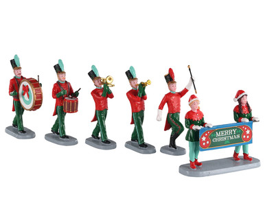 03515 - Christmas on Parade, Set of 6 - Lemax Table Pieces