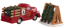 93423 - Tree Delivery, Set of 2 - Lemax Table Pieces
