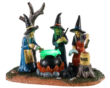 04709 - Teamwork, Battery-Operated (4.5-Volt) - Lemax Spooky Town Accessories