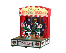 04726 - Christmas Belle's Holiday Recital, Battery-Operated (4.5-Volt) - Lemax Table Pieces